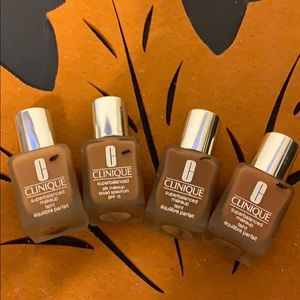 All 4 Clinique foundations